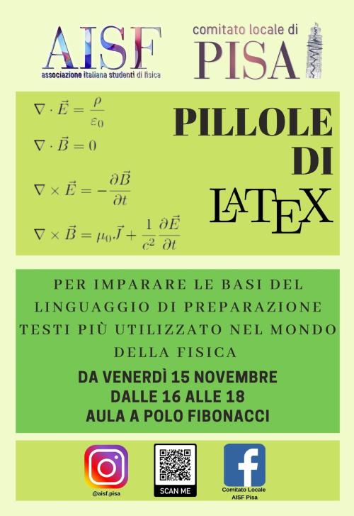Corso LaTeX