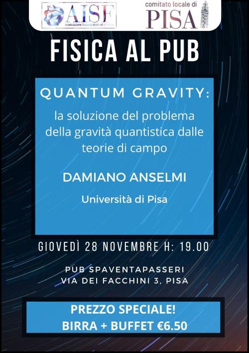 Fisica al Pub - Quantum Gravity